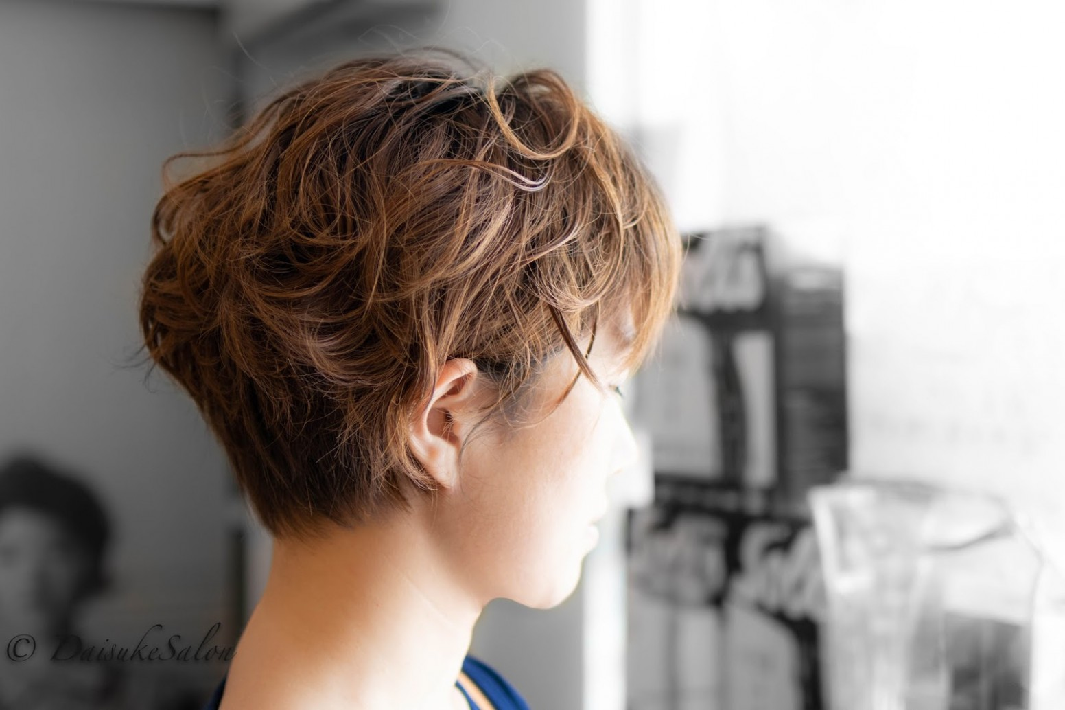 Welcome: Japanese Air Wave Perm for Short Hair