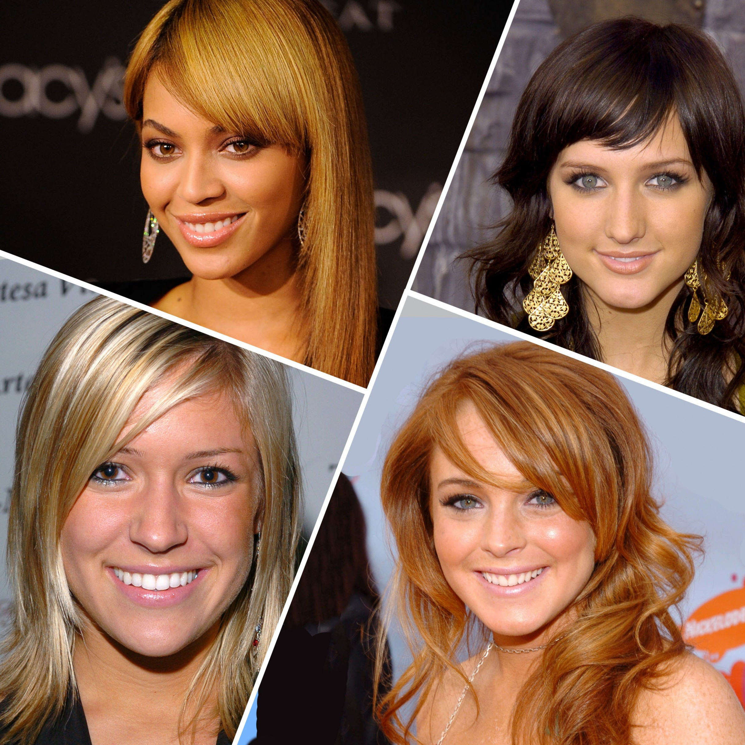 Why Did We All Have Side Bangs 10 Years Ago? Glamour Side Bang Styles