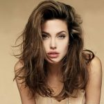 Women's Hairstyles: Wildness Angelina Jolie With Messy Haircuts Messy Long Hairstyles