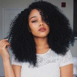 YIROO Afro Curly Wig For Black Women Synthetic Wig Fiber Lace Front Wig Kinky Curly Heat Resistant Wigs With Cap Replacement Natural Black Wig Afro To Curls